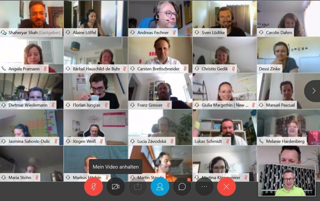 Closing des Agilista Barcamps 2020 der Deutschen Telekom